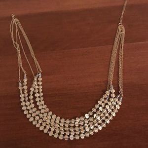 Gold filled layered necklace